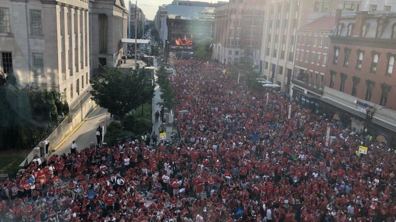 Image result for caps fans streets of dc