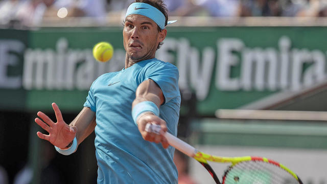 French Open 2018 Men S Final Rafael Nadal Defeats Dominic Thiem For 11th Title Cbssports Com