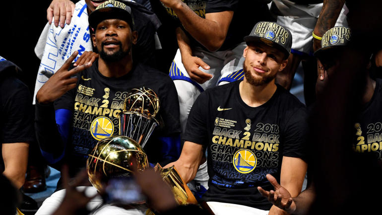 Warriors vs. Cavs: NBA Twitter irate over Stephen Curry losing 2018 Finals MVP to Kevin Durant ...