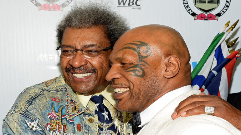 mike tyson shows beef with don king is still alive  tosses