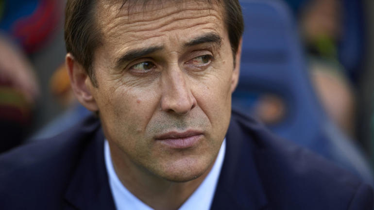 Real Madrid announce they will hire Spain national team manager Julen Lopetegui to take over following the World Cup