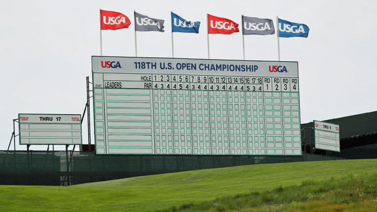 2018 u s  open leaderboard  live coverage  golf scores