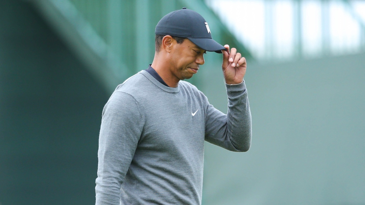 u s  open 2018  tiger woods rebounds with score of 72 but