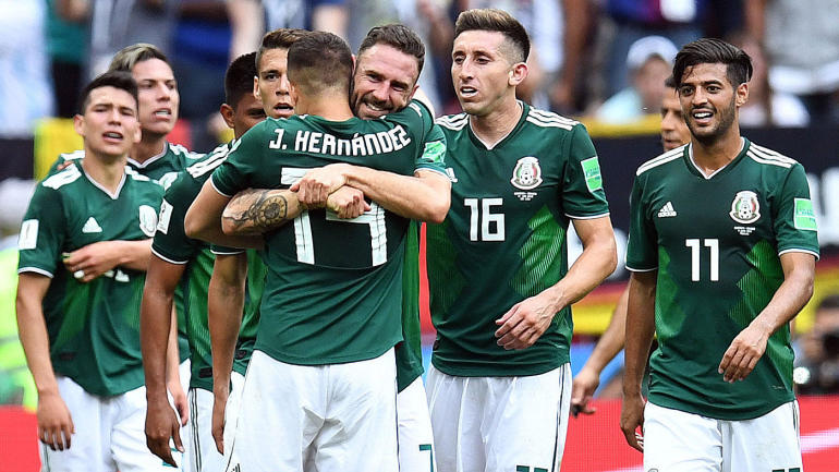 Mexico at the 2018 World Cup  Schedule ca27f1afc