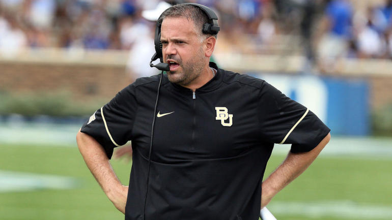 Report Matt Rhule Remaining With Baylor As Talk Of