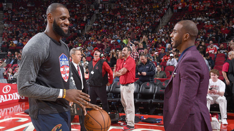 090f3da1076 NBA free agency rumors  Chris Paul a lock to return to Rockets  recruiting LeBron  James his main focus - CBSSports.com