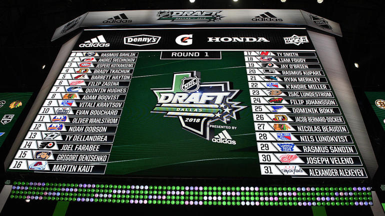 2018 NHL Draft tracker: Complete results from every round, first-round pick-by-pick analysis