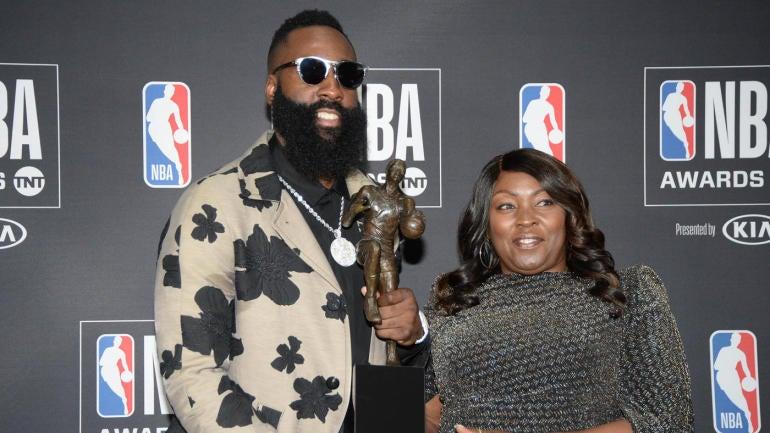 2017-18 NBA Awards results  Rockets  James Harden wins first MVP Award a3301987f