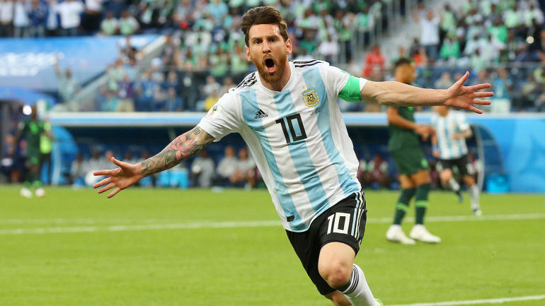 Lionel Messi Scores First 2018 World Cup Goal For Argentina And