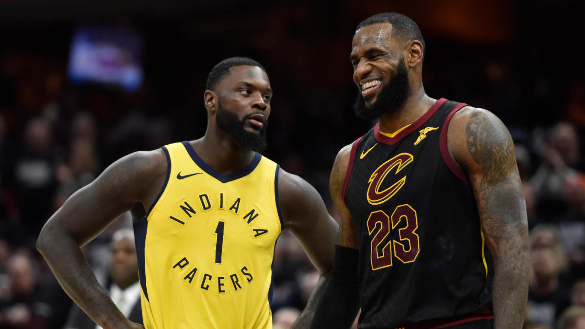 bc0cdd66461 NBA free agency 2018: After landing LeBron James, what will Lakers' roster  look like? - CBSSports.com