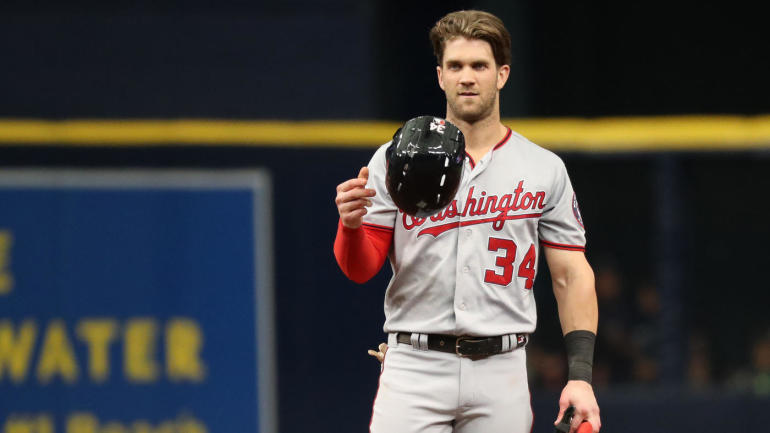 MLB rumors: Dodgers interested in short-term deal with Bryce Harper; Angels in on Yasmani Grandal