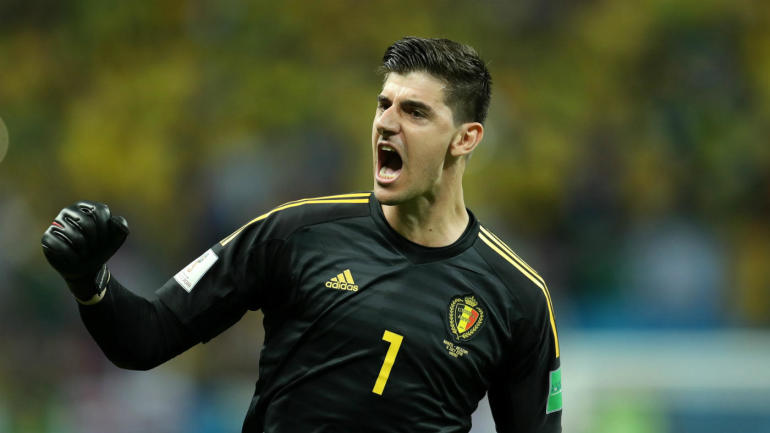 World Cup: Thibaut Courtois plays hero with save of Neymar strike and Twitter knows it