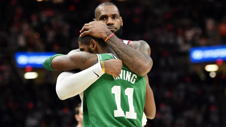 Report: Kyrie Irving never wanted LeBron James to rejoin Cavs; almost asked for trade after 2016 title ...