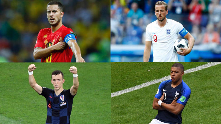 Ranking 2018 World Cup final matchups between Belgium, France, England, Croatia