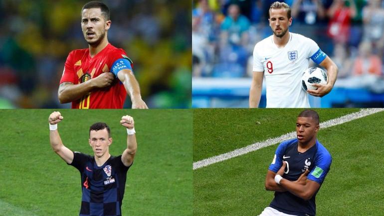 Ranking potential 2018 World Cup final matchups involving France, England and Croatia