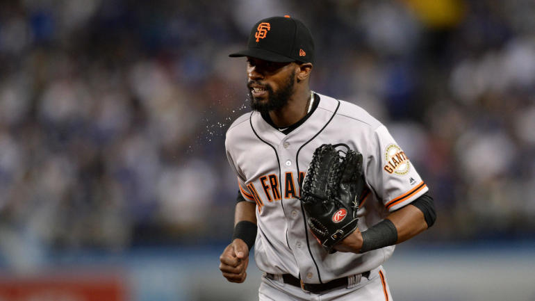 MLB trade: Giants open up roster spots for prospects by shipping Cory Gearrin, Austin Jackson to Rangers