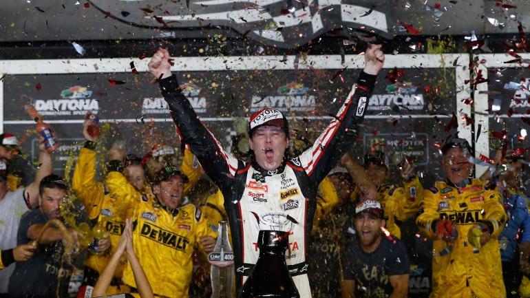 NASCAR Coke Zero Sugar 400 at Daytona results, standings: Erik Jones wins first career race