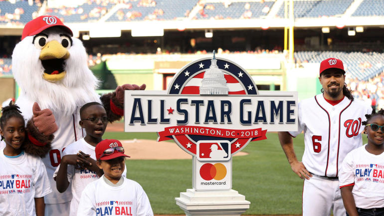 edcd9a296c8acc 2018 MLB All-Star Game rosters revealed  Full American and National League  rosters