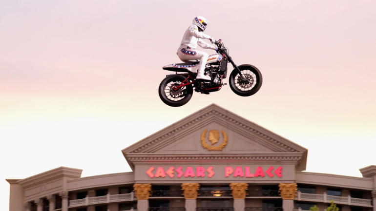 Image result for Travis Pastrana Caesars Palace Fountain Jump