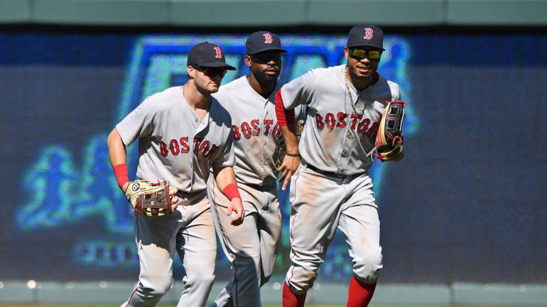 SportsLine MLB playoff odds, projections: Red Sox bump Yankees down to AL Wild Card Game