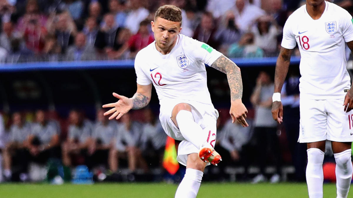 World Cup 2018 Kieran Trippier Scores Gorgeous Free Kick Goal For England And Twitter Believes It S Coming Home Cbssports Com