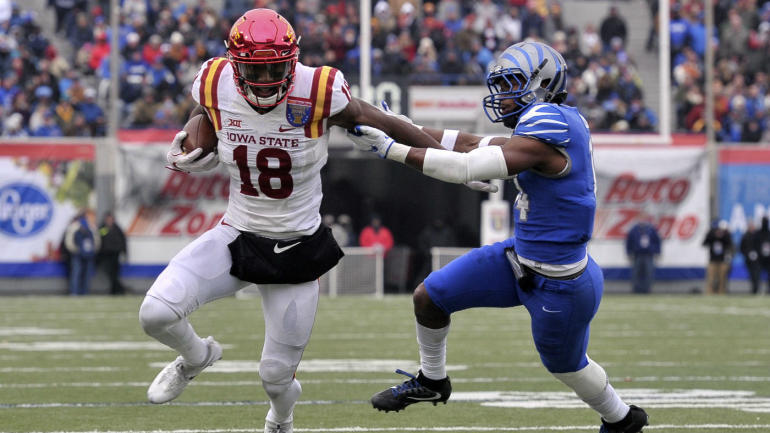Draft: Buter first WR, 4 QBs go early