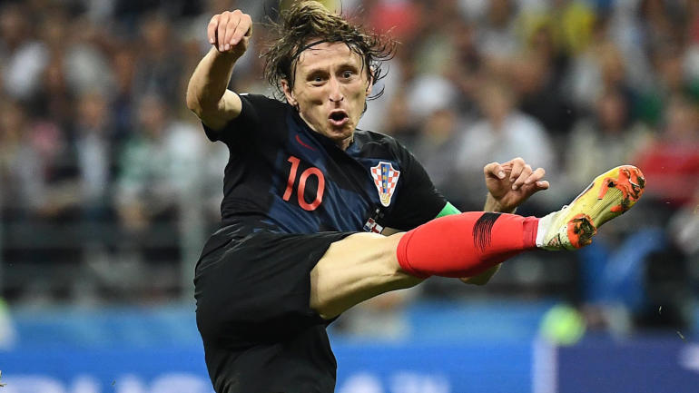 2018 World Cup awards: Modric wins Golden Ball; Mbappe named best young player; Golden Glove to Courtois