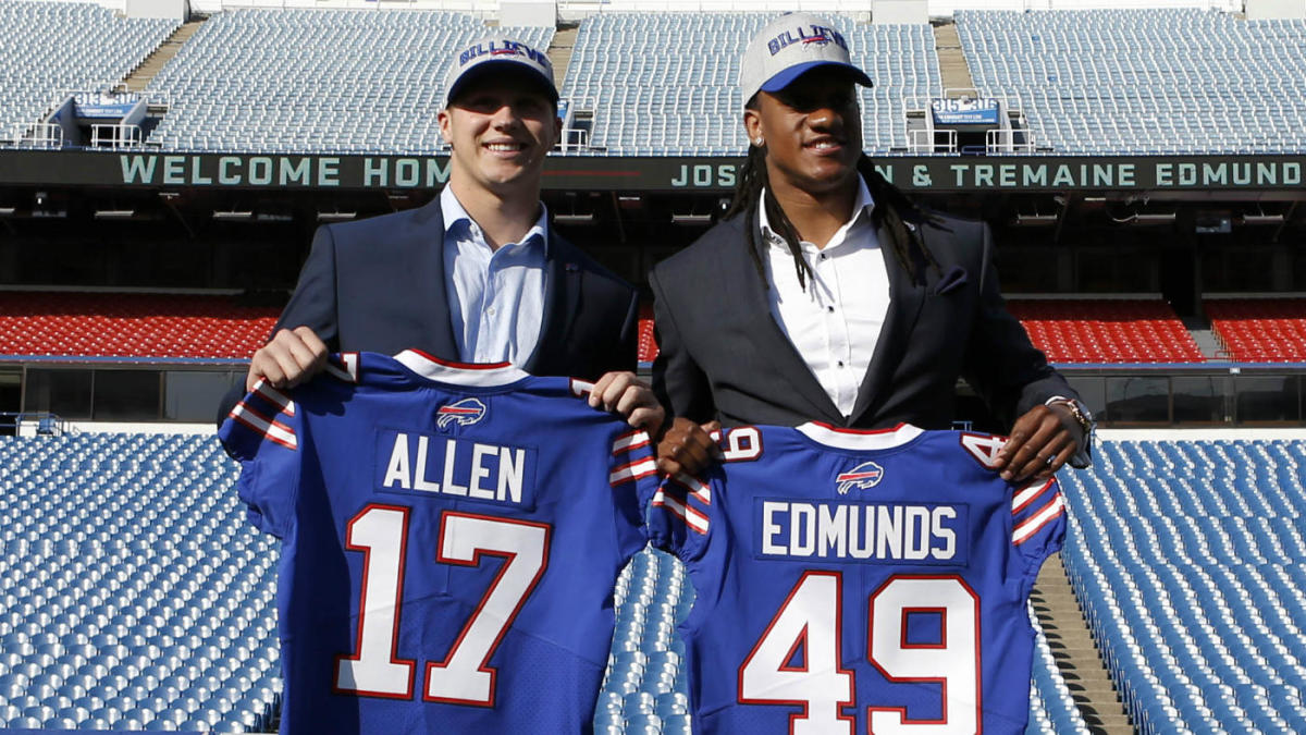 official photos c0668 08b47 How the Bills shocked themselves and landed Josh Allen ...