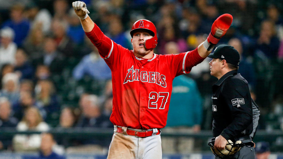 Angels reportedly will try to get Mike Trout under contract for the rest of his career in offseason