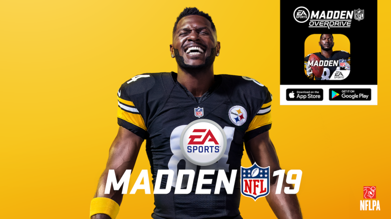 Antonio-brown-madden-19-cover-steelers-wide-receiver-business-is-booming