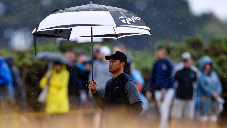 british open 2018  tiger woods ends up