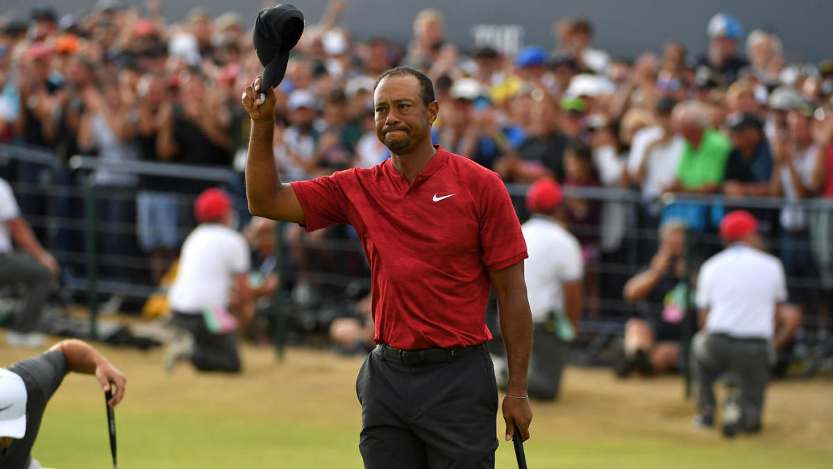 british open 2018  tiger woods thrills with lead but fades