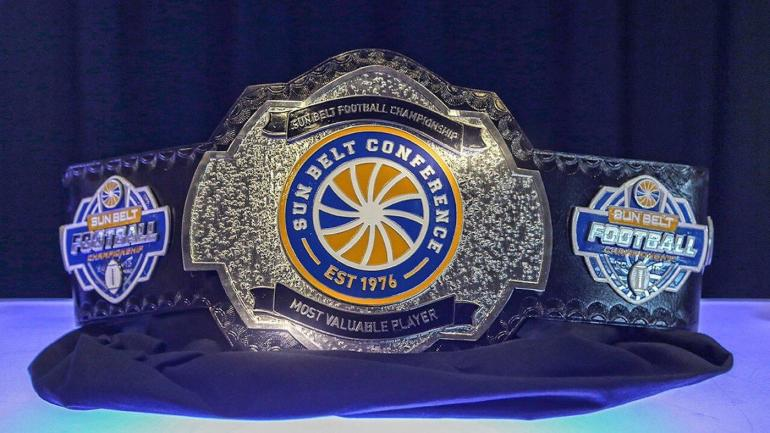 Look Sun Belt To Hand Out Championship Belt To Conference