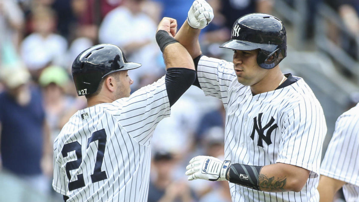 Yankees Backup Catcher Awarded For Hustle A Day After The Gary Sanchez Incident Cbssports Com