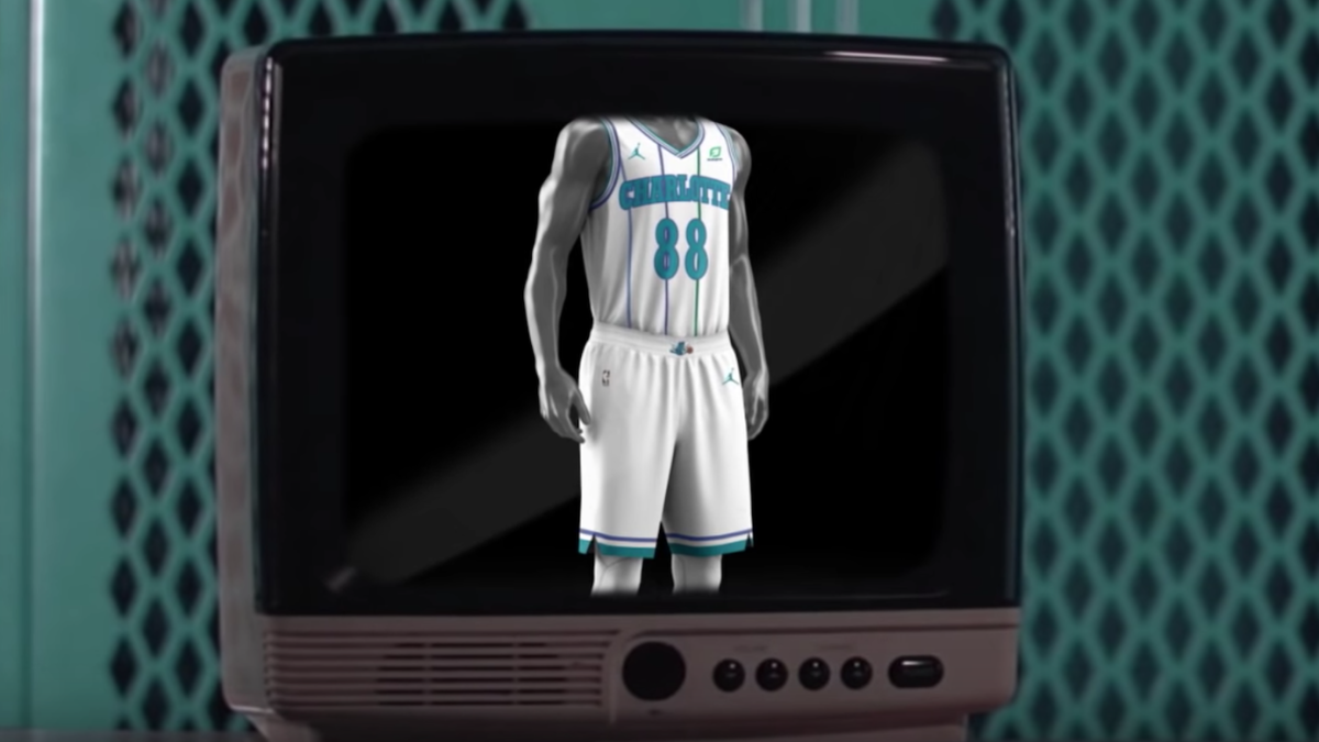 f70db0d5ed8 Charlotte Hornets bringing back white retro uniforms as alternates next  season - CBSSports.com