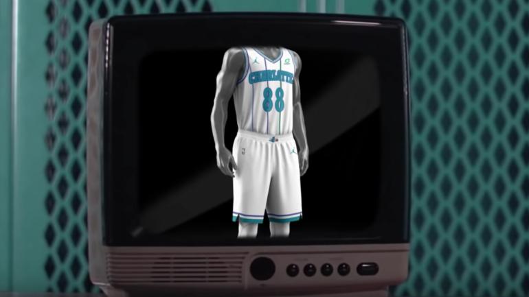 Charlotte Hornets bringing back white retro uniforms as alternates next  season - CBSSports.com 6ca0e2b15