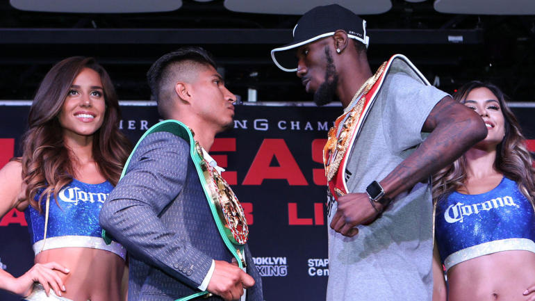 Mikey Garcia dominates Robert Easter to unify lightweight titles; calls out Errol Spence Jr.