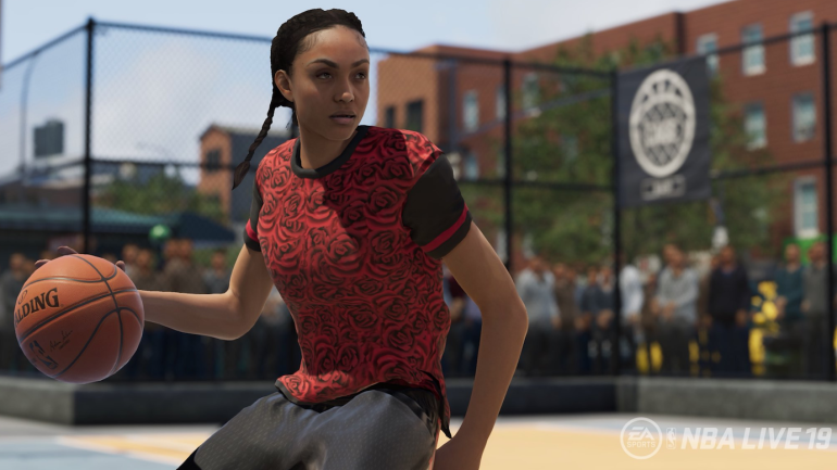 f3272833e8dd NBA Live 19 will feature an option to create female players for the first  time