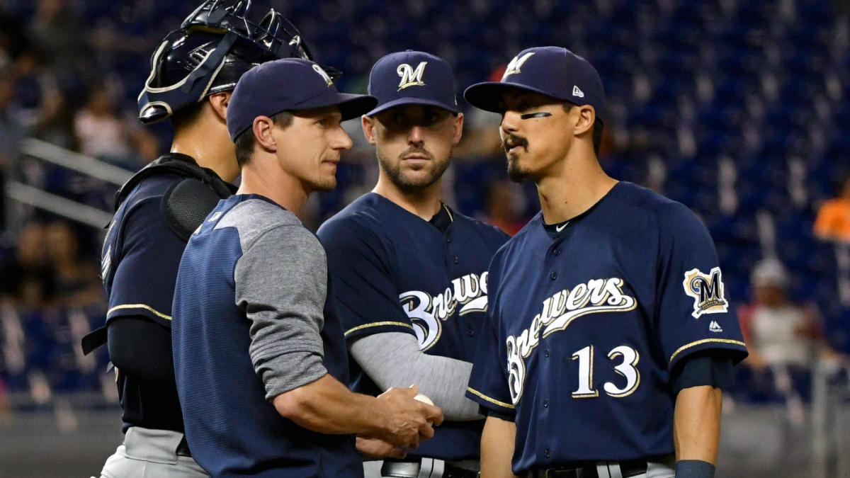 The Brewers are in prime wild-card position but still