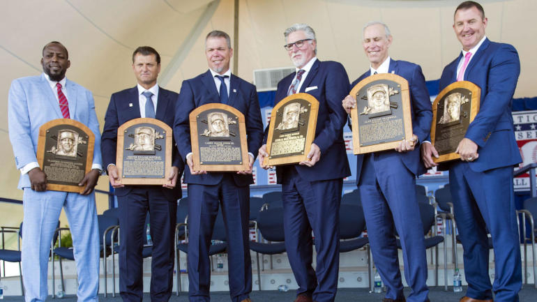 Image result for 2018 mlb hall of fame inductees