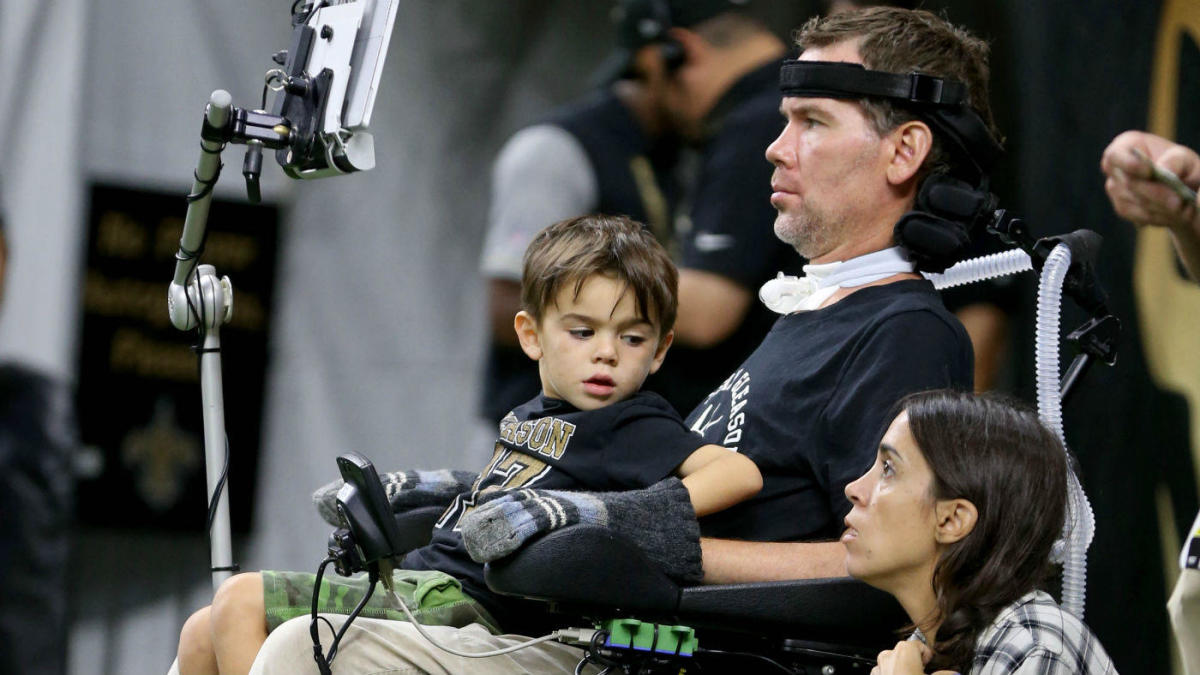 Saints Icon And Als Survivor Steve Gleason And His Wife Are