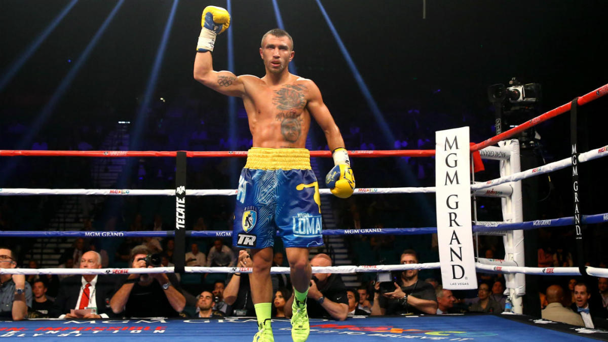 Vasyl Lomachenko expected to return from injury on Dec. 1 in ...