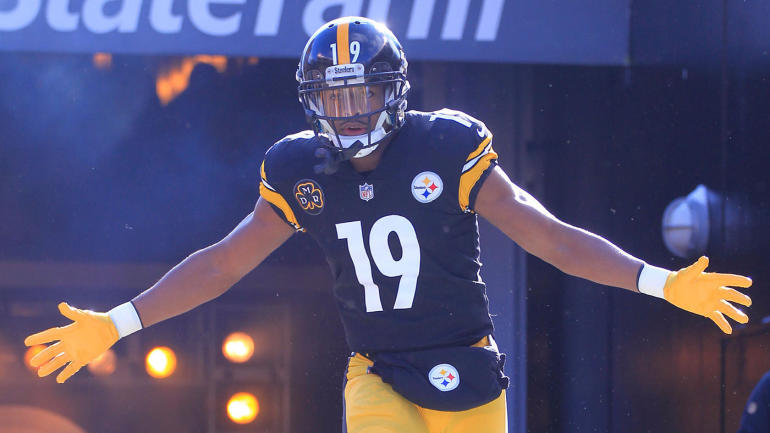 cdf777618 JuJu Smith-Schuster  going to embrace  No. 1 role if Antonio Brown leaves -  CBSSports.com