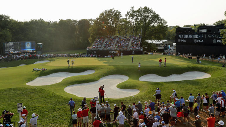 2018 pga championship leaderboard  live coverage  golf