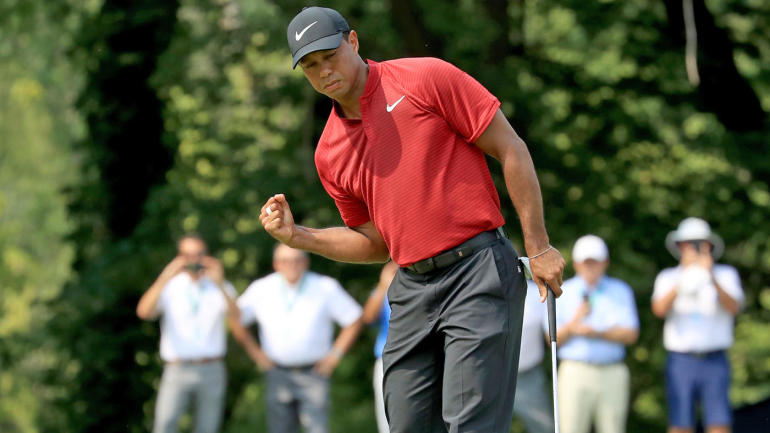 tiger woods ends thrilling 2018 pga championship with a