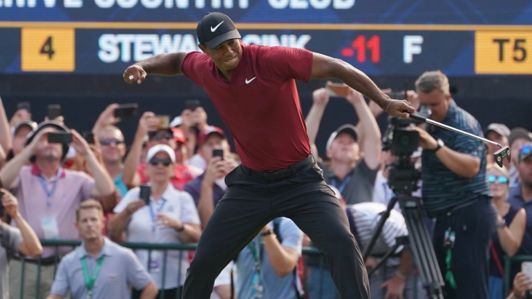 PGA Championship 2018: Tiger Woods won everything except the Wanamaker Trophy in Bellerive