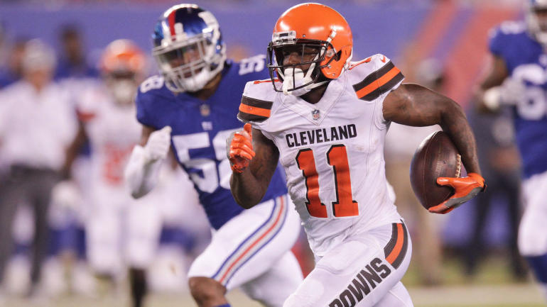 Hue Jackson says he disciplined Browns rookie Antonio Callaway by playing  him entire game - CBSSports.com 422405d1b