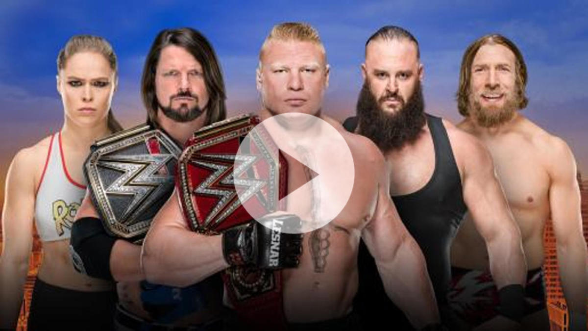 2018 WWE SummerSlam live stream, watch online, start time, matches, kickoff, WWE Network