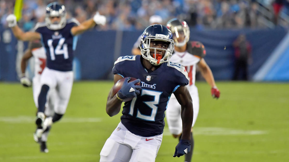 Browns boost receiving corps by trading draft pick to Titans for Taywan Taylor