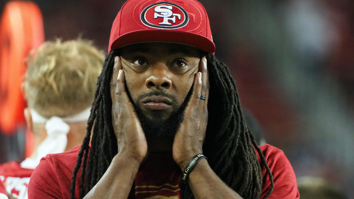 49ers' Richard Sherman undergoes MRI on hamstring, status for Week 15 and beyond in question